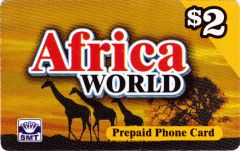 Buy Africa World phone card