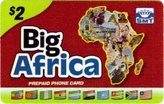 Buy Big Africa phone card
