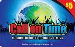 Buy Callontime phone card