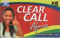Buy Clear Call Africa phone card