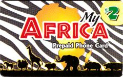 Buy My Africa phone card