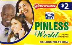 Buy Pinless World phone card