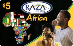 Buy Raza Africa phone card