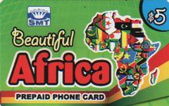 Buy Beautiful Africa phone card